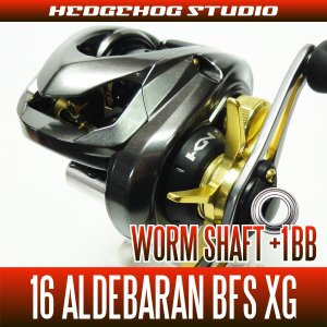 Photo1: Worm Shaft +1BB Bearing Kit for 16 ALDEBARAN BFS XG