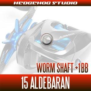 Photo2: Worm Shaft +1BB Bearing Kit for 15 ALDEBARAN