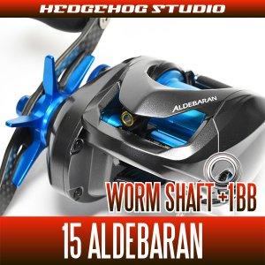 Photo1: Worm Shaft +1BB Bearing Kit for 15 ALDEBARAN