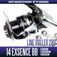 14 EXSENCE BB C3000M,C3000HGM,4000HGM Line Roller 2 Bearing Kit Ver.2