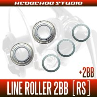 DAIWA Line Roller 2Bearing upgrade Kit  [RS] (For LONGCAST REEL,SURF REEL etc)