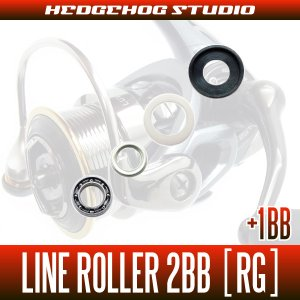 Photo1: DAIWA Line Roller 2 Bearing upgrade Kit [RG]  (For 17 THEORY, 16 EM MS, 15 LUVIAS, 14 CALDIA, 14 X FIRE, 14 EMERALDAS MX, 14 PRESSO)