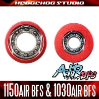 """Kattobi"" Spool Bearing Kit - AIR BFS - 【1150AIR BFS & 1030AIR BFS】 for STEEZ A TW, ZILLION TWS, T3SV, T3MX, T3, STEEZ, DAIWA Z, RYOGA, morethan PE SV, etc."