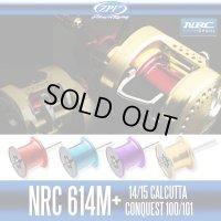 【ZPI】 NRC614M+ Spool For SHIMANO 14・15 CALCUTTA CONQUEST 100,101