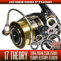 17 THEORY 2004, 2004H, 2506, 2506H, 2508PE-H, 2510PE-H, 3012, 3012H用 MAX12BB  Full Bearing Kit