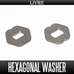Photo1: [LIVRE] Hexagonal Washer t1.5 for quick change system