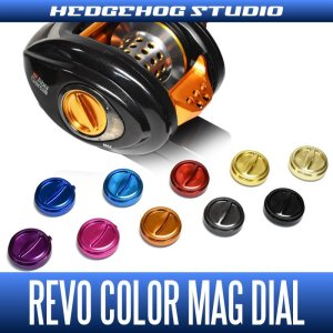 Photo1: [HEDGEHOG STUDIO x ZPI] Color Mag Dial - Limited version (for LTZ, LTX, MGX, 13 REVO ELITE, POWER CRANK etc.)