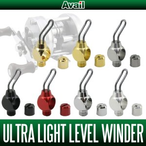 Photo1: [Avail] ABU ULTRA LIGHT LEVEL WINDER SET (for ABU Ambassadeur 2500C series)
