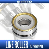 [SHIMANO Genuine Product] Line Roller for 15 TWIN POWER (1 piece)