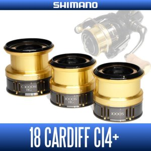 Photo1: [Shimano genuine] 18 Cardiff CI4 + for genuine spare spool each size (18CARDIFF CI4 + · spinning reel area trout native trout)