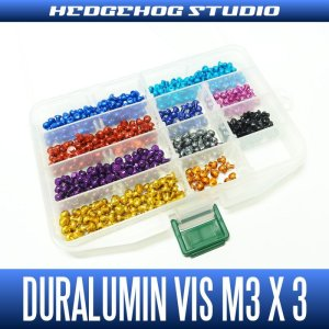 Photo1: Duralumin Screw for handle retainer (M3 x 3mm) - 1 piece