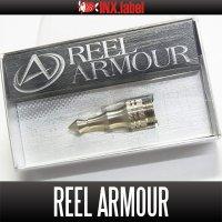 【INX.label】REEL ARMOUR [TB340] Pure Titanium Machined Reel Stick