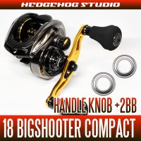 [ABU] Handle Knob Bearing Kit(+2BB) for 18 REVO BIG SHOOTER COMPACT 8/7 [Bass Fishing]