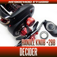 [ABU] Handle Knob Bearing Kit (+ 2BB) for DECIDER