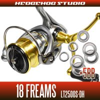 18 FREAMS LT2500S-DH for MAX10BB full bearing tuning kit