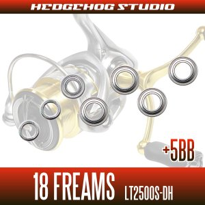 Photo2: 18 FREAMS LT2500S-DH for MAX10BB full bearing tuning kit