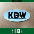 [KAKEDZUKA DESIGN WORKS] KDW logo sticker