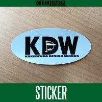 [KAKEDZUKA DESIGN WORKS] KDW logo sticker (KDW-001)