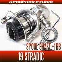 [SHIMANO] 19 STRADIC  1000S - 3000MHG Spool Shaft 1 Bearing Kit M size