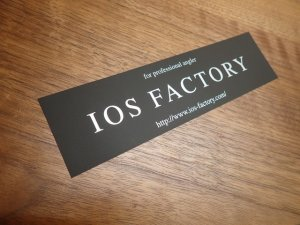 Photo1: [IOS Factory] sticker Mad Brack