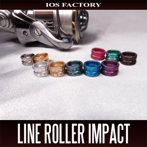 Photo1: [IOS Factory] Line Roller IMPACT for SHIMANO