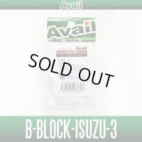 [Avail] Brake Block(Brake shoe) B-BLOCK-ISUZU-3 (4 pieces) for Avail Centrifugal 4P-Brake CNQ50-38
