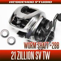 [DAIWA] 21 ZILLION SV TW Worm shaft bearings +2BB