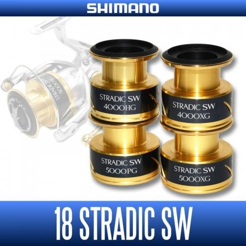 SHIMANO genuine product] 18 STRADIC SW Spare Spool(4000HG, 4000XG