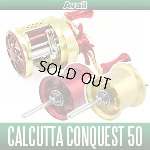Photo1: CALCUTTA CONQUEST 50 - Avail Microcast Spool CNQ5026Ra - (1)