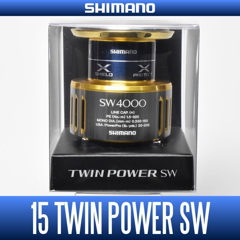 Shimano 2015 TWIN POWER 4000 PG HG XG ORIGINAL SPARE SPOOL